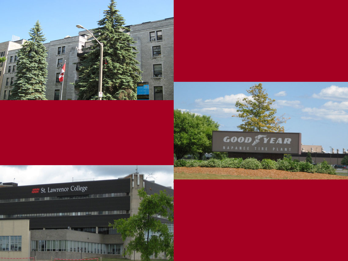 Kingston General Hospital  | Good Year | St. Lawrence College | Various Projects 2002-2010