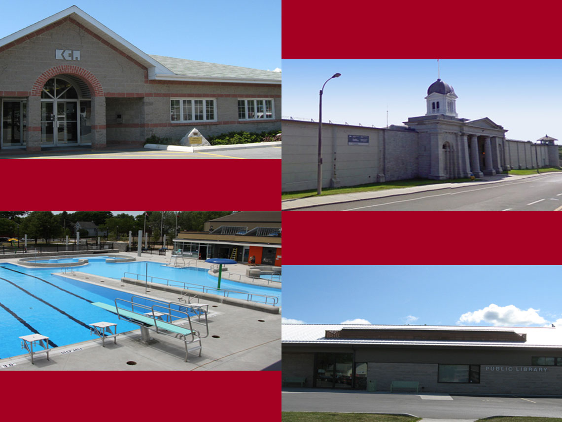 Kingston Construction Association | Kingston Penitentiary | Memorial Pool & Water Park |  Sydenham Public Library
